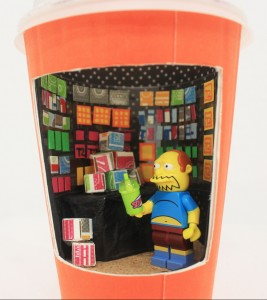 Lego mini Tea2 store Jingyi (Cici) Wang Mixed media 18cm x 6cm x 10cm